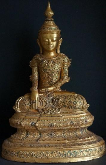 EarlyTai-Yai-Art-Burmese-buddha-Statue-2018
